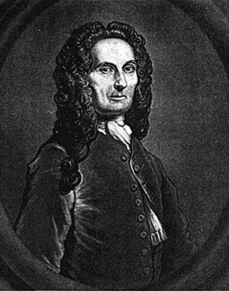Английский математик Абрахам де Муавр