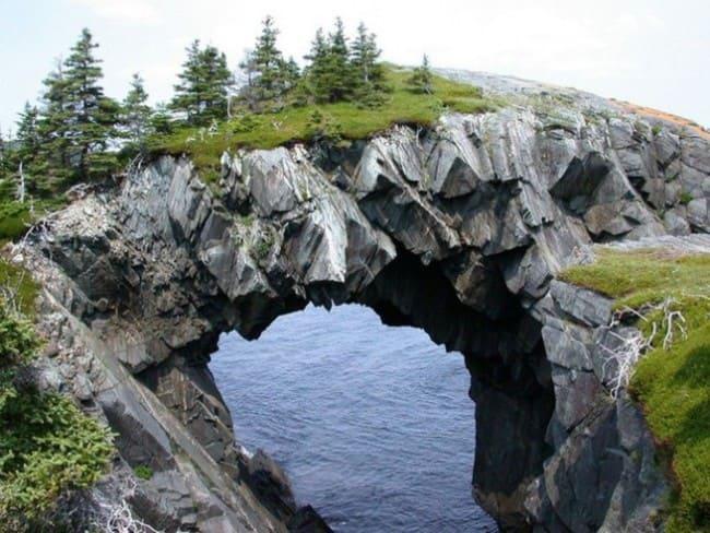 Арка Берри-Хед - Ньюфаундленд