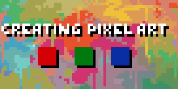 Что такое пиксель-арт