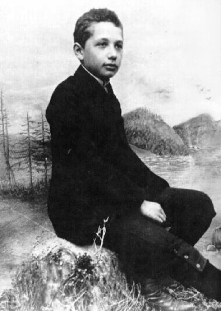 Эйнштейн в школе