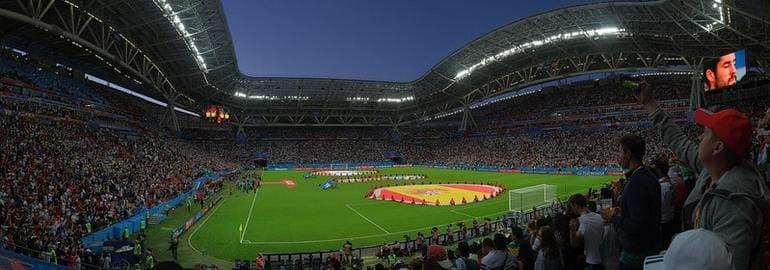Казань Арена, Россия