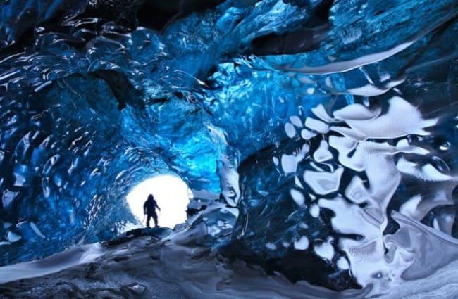 Ледяная пещера - Скафтафетль, Исландия