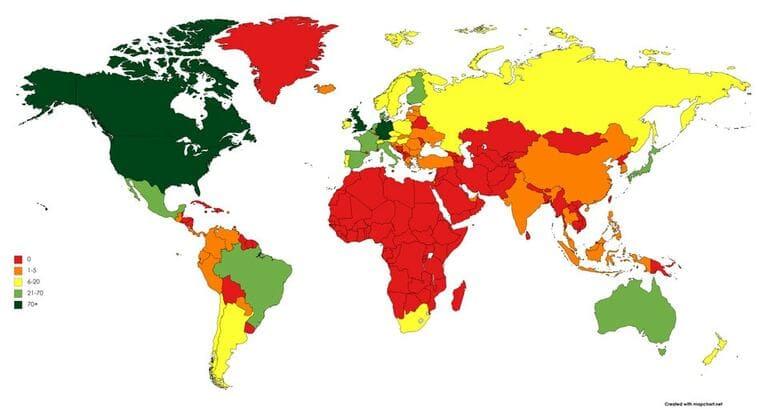 Металлика давала концерты в разных странах
