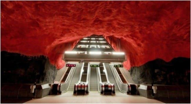Метро - Стокгольм, Швеция