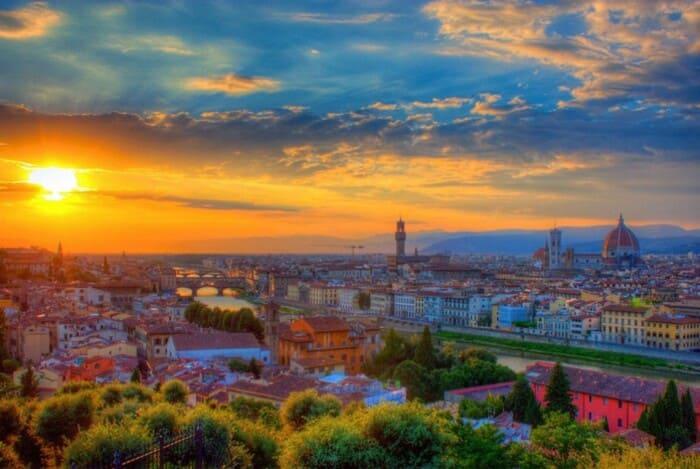 Тоскана - родина итальянского языка