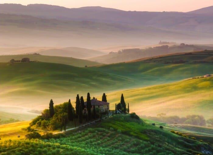 В Тоскане