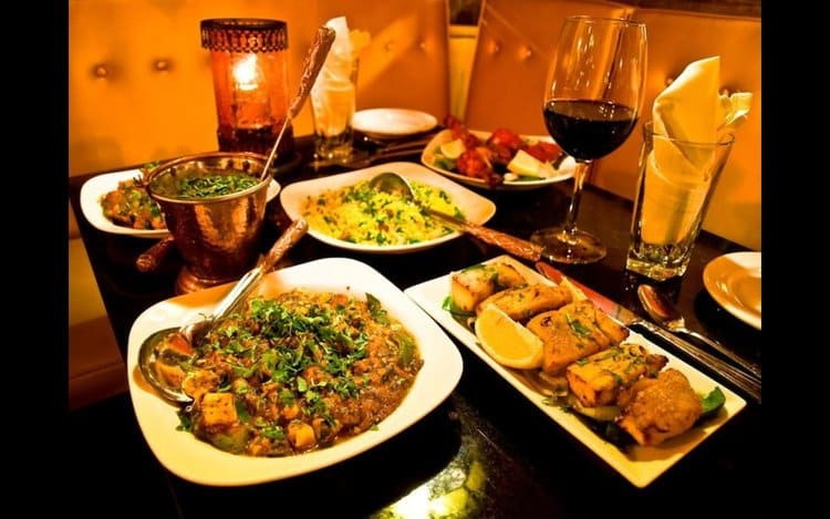 индийских ресторанов