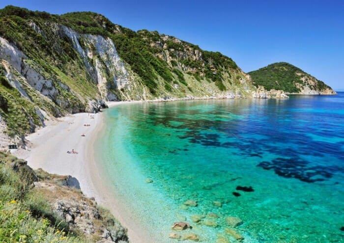 пляж в Тоскане