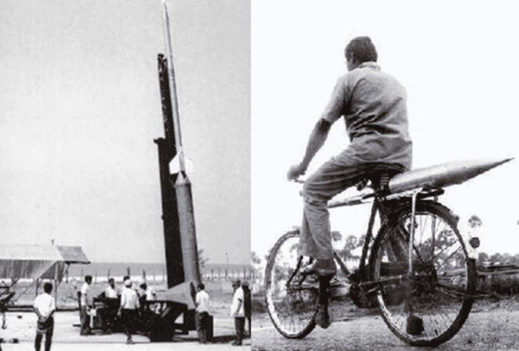 Первая ракета Индии