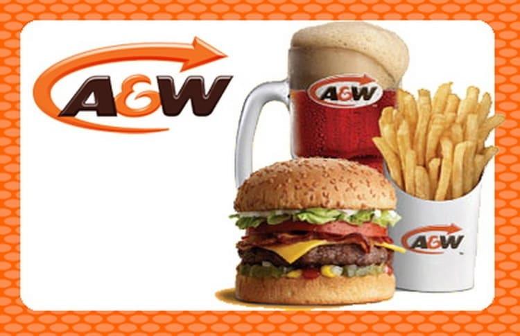 ресторанов быстрого питания A&W