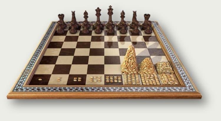 шахматы, рис и разорение