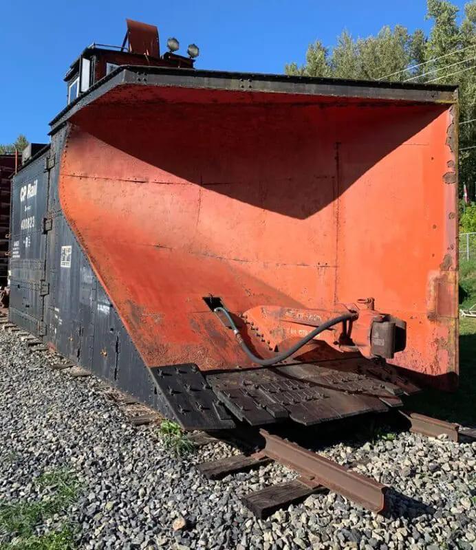 Ковш снегоуборочного железнодорожного локомотива