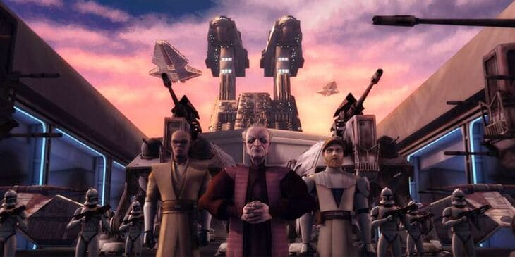 12. Звёздные войны: Войны клонов (2008)