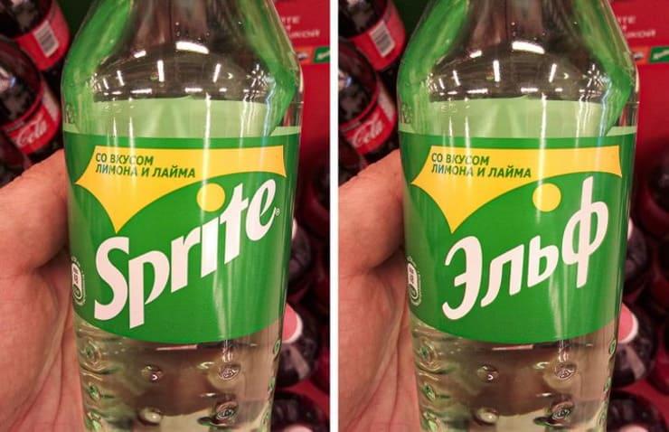 18 известных логотипов, которые стоило бы перевести на русский язык