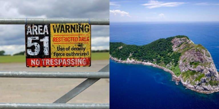 25 самых запретных мест на Земле