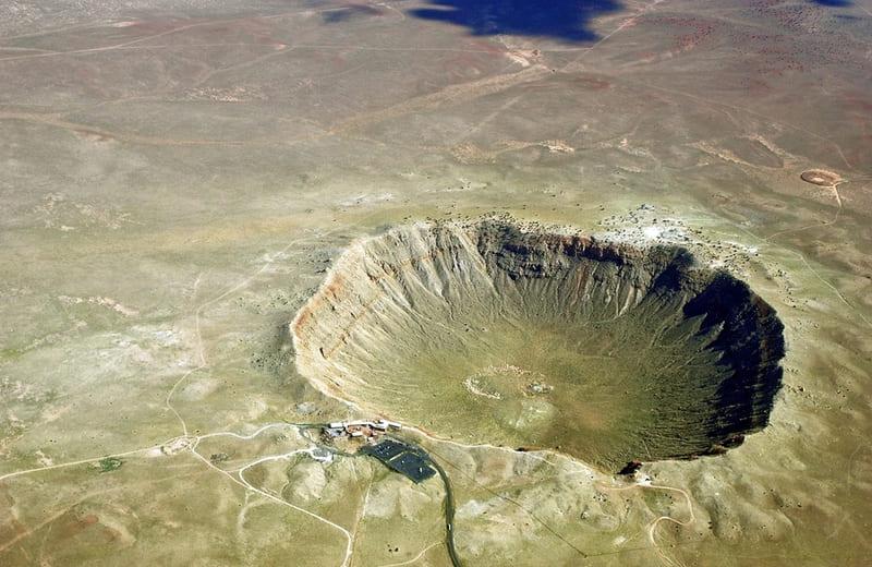 Аризонский кратер (кратер Бэрринджера), Аризона, США