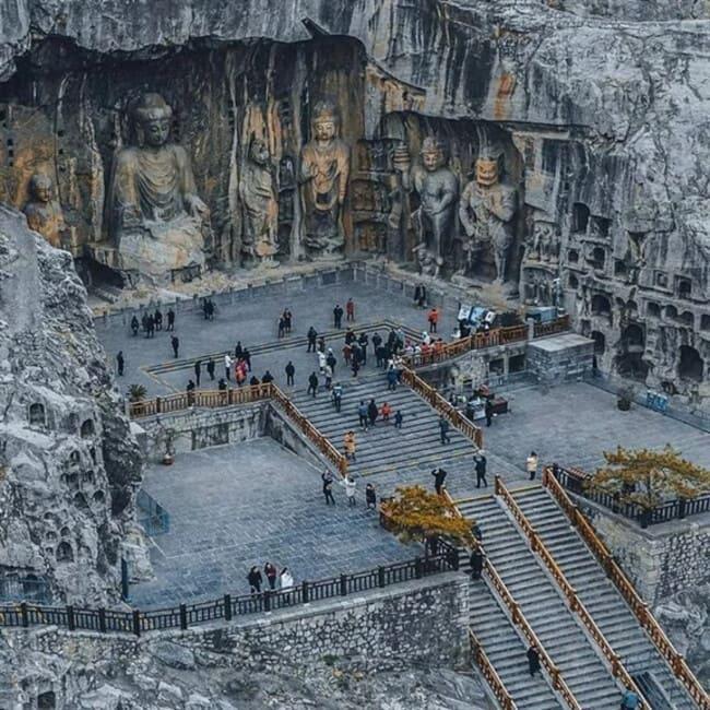 Комплекс пещерных храмов Лунмэнь