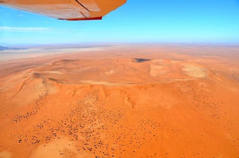 Кратер Ротер Камм, Намибия