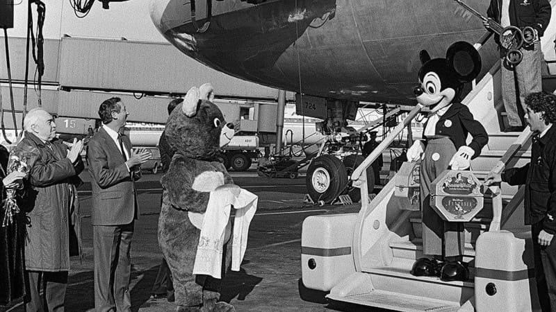 Первый официальный визит в СССР Мики-Мауса