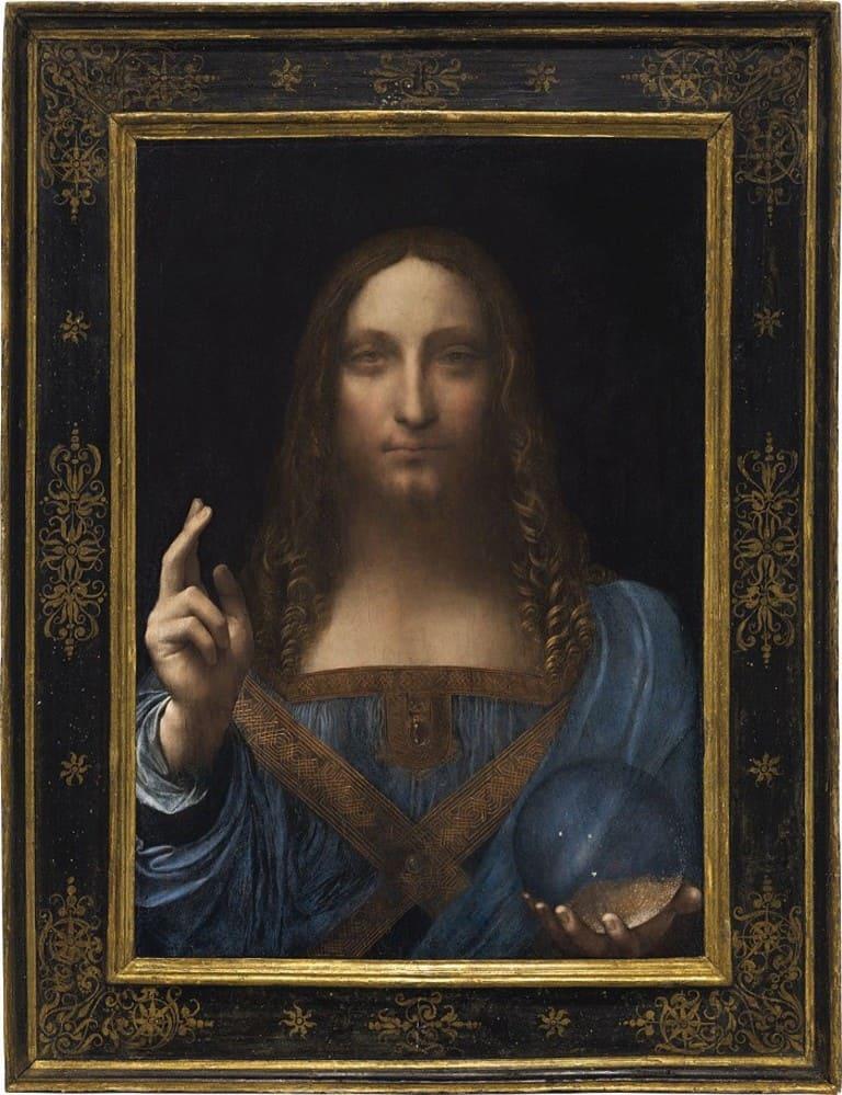 Salvator Mundi, Леонардо да Винчи, 1490-1500