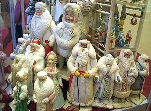 Винтажные Деды Морозы и Снегурочки