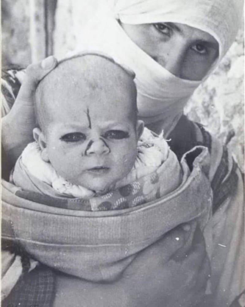 Защита младенца от злых духов