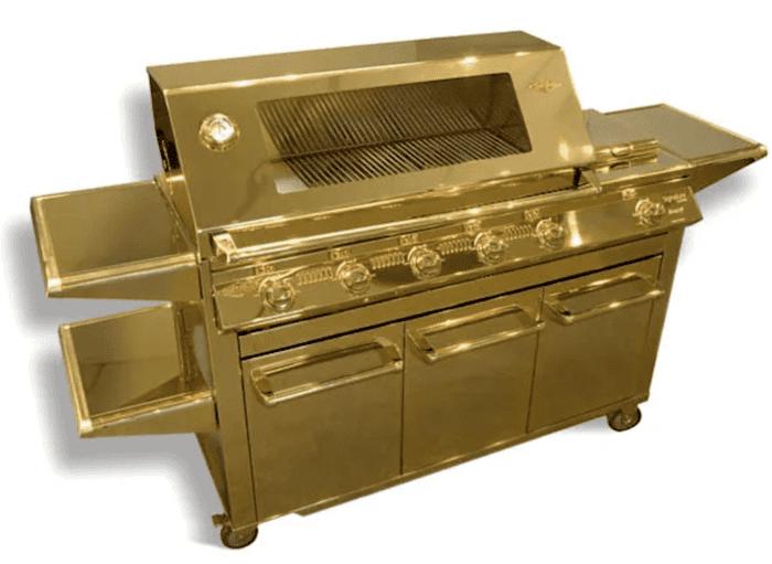 Золотой гриль-барбекю