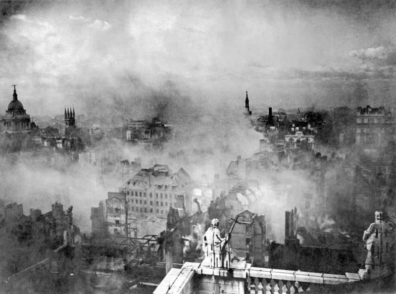Лондон в руинах