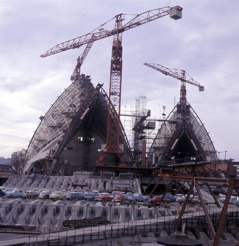 Строительство Сиднейского оперного театра