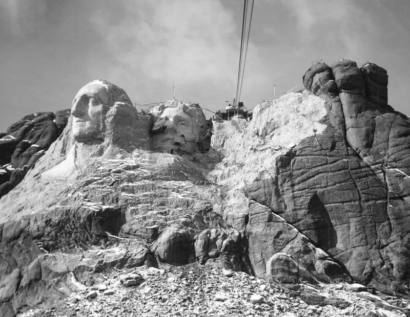 Ваяние на горе Рашмор