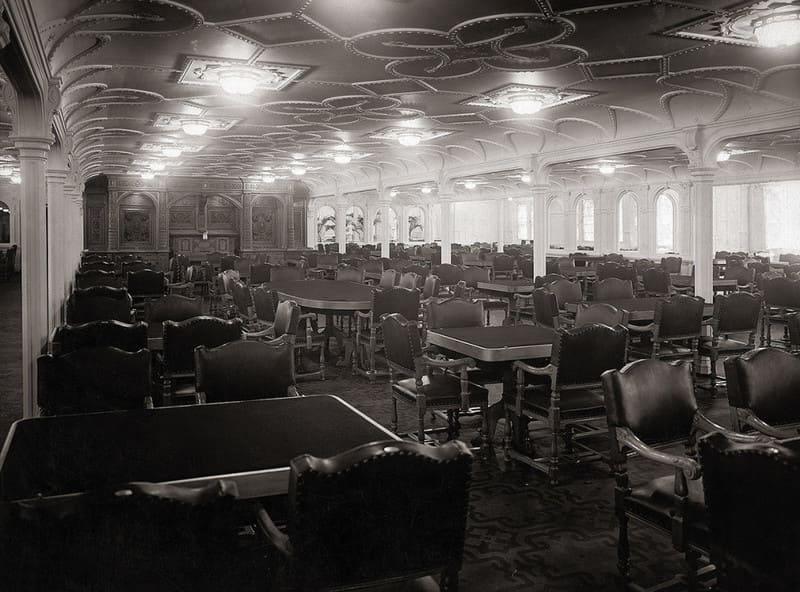 обеденный зал «Титаника»