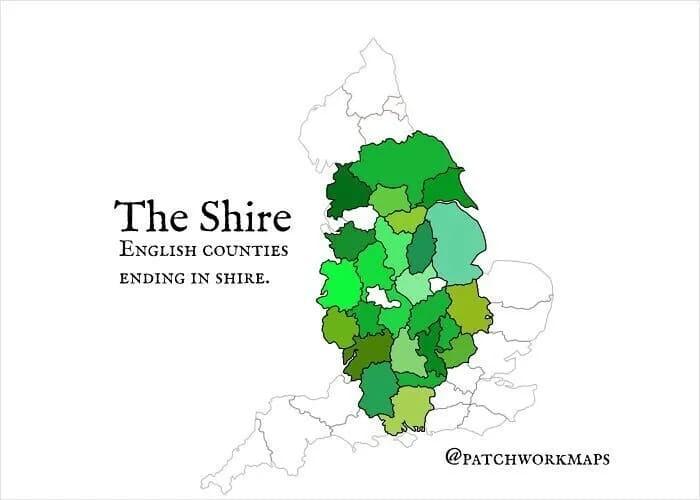 Графства Англии