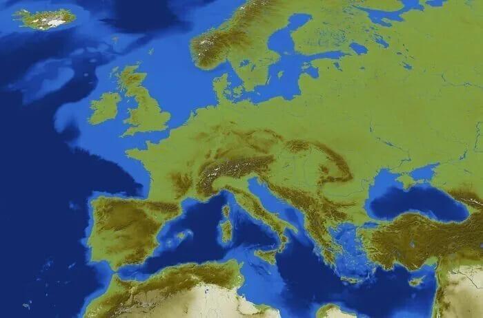 Игровая карта Европы