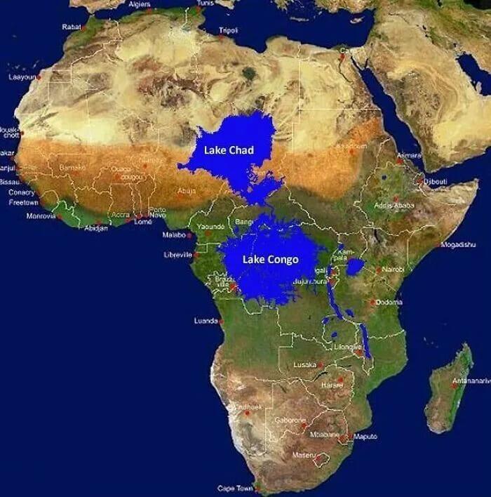 запрудить устье реки Конго