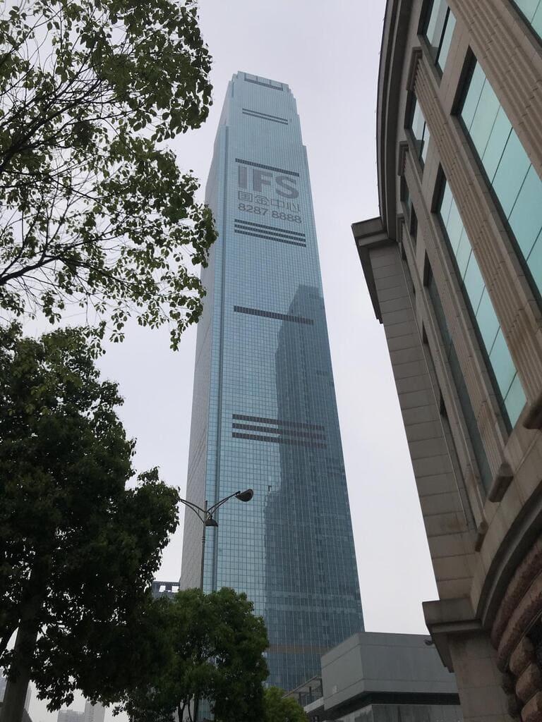 Башня Чанша IFS Tower T1