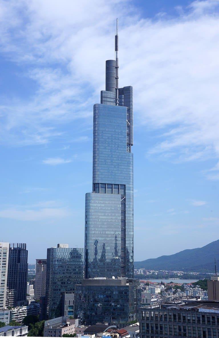 Финансовый центр Наньцзин-Гринлэнд (Zifeng Tower)