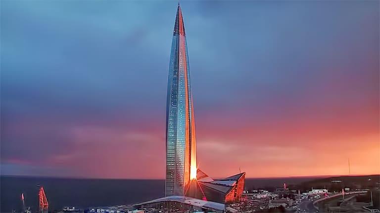 Лахта Центр (Lakhta Center)