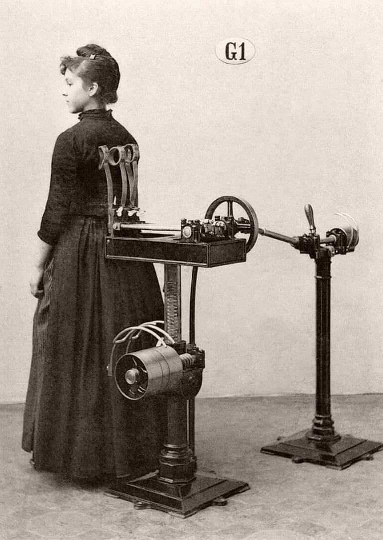 Аппарат для массажа спины