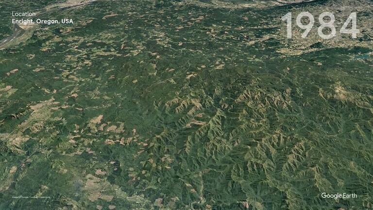 Энрайт, штат Орегон, США