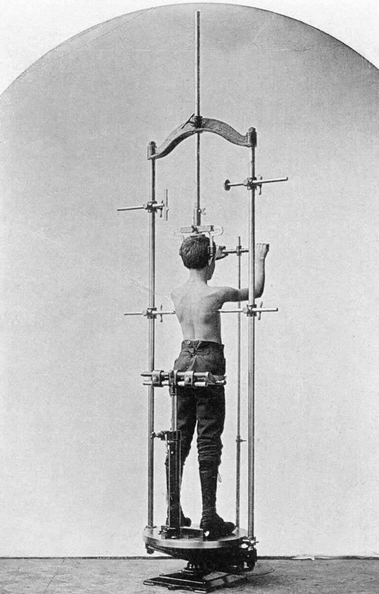 Машина для измерения размеров тела