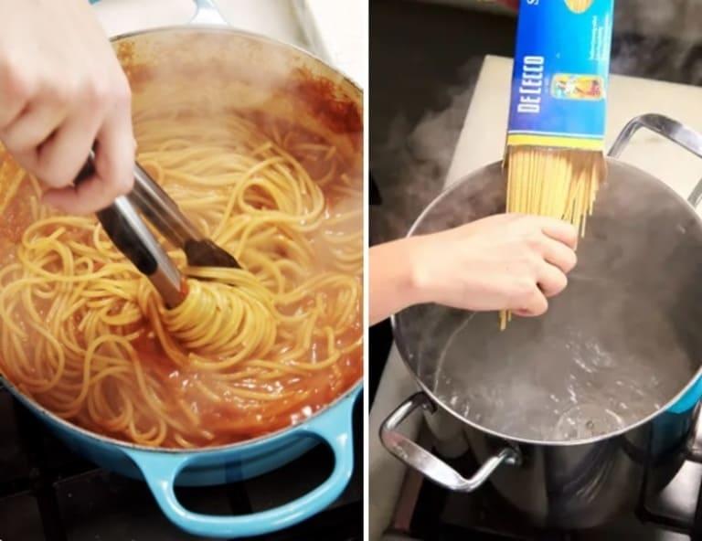 Одна спагетти-лапша