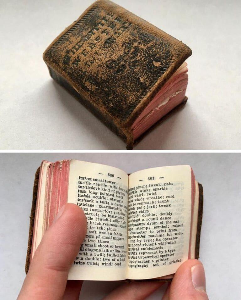 Старый крошечный словарь