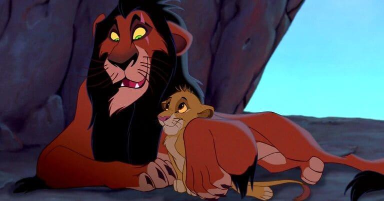 В «Короле льве»