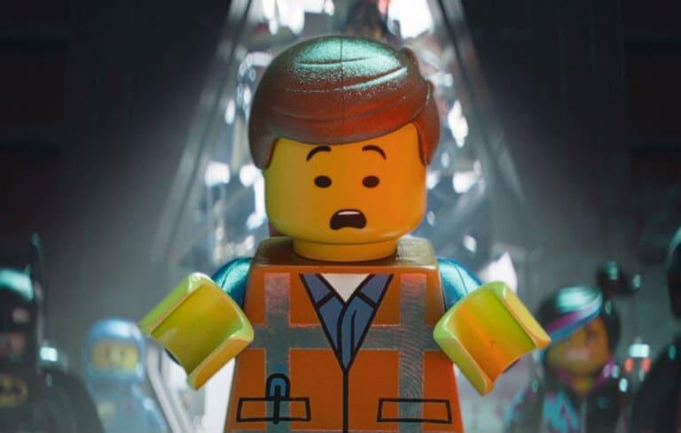 В фильме «Лего»
