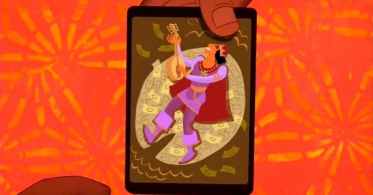 В мультфильме «Принцесса и лягушка»1