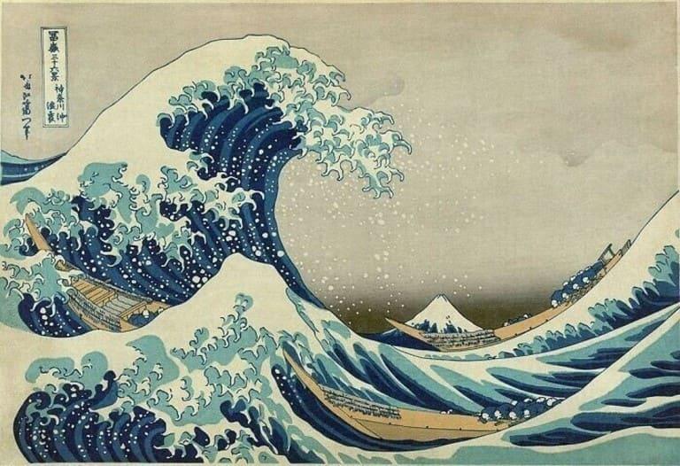 Знаменитая японская картина