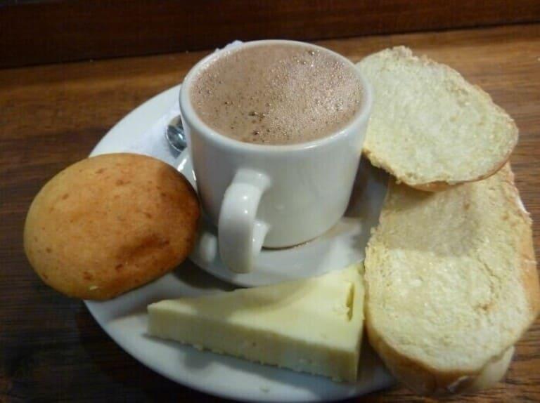 горячий шоколадный сыр