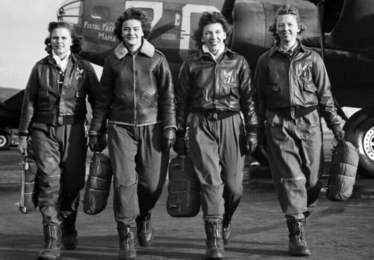 женщин-пилотов