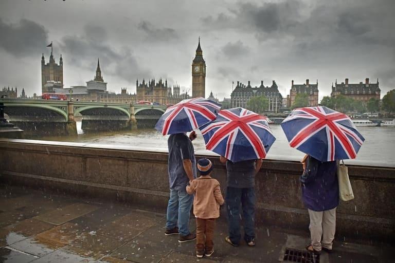 Англия — самая дождливая страна