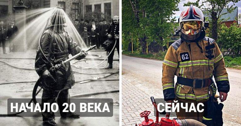 Как представители разных профессий изменились за последние 100 лет